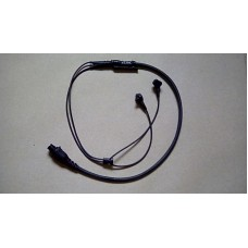 RACAL ELITE HEADSET  CW 19 PIN MALE SOCKET BLACK COLOUR